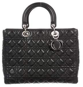 Christian Dior Large Lady Bag