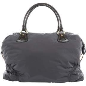 Tod's Grey Cloth Handbag