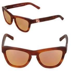 Westward Leaning Pioneer 53MM Tortoise Shell Sunglasses