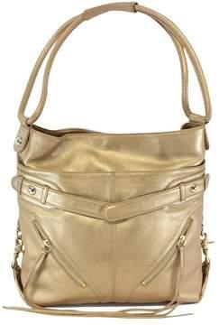 Botkier Gold Leather Shoulder Bag
