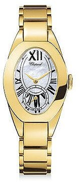 Chopard Classique Femme Mother of Pearl Dial 18 kt Yellow Gold Ladies Watch
