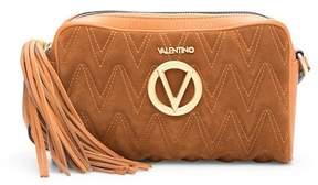 Mario Valentino Valentino By Mila Suede Crossbody Bag