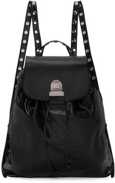 MM6 MAISON MARGIELA Black Leather Backpack