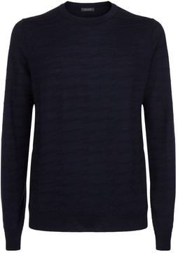 Pal Zileri Zig Zag Sweater