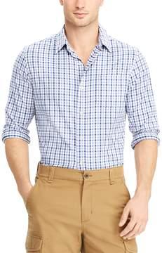Chaps Men's Classic-Fit Moisture-Wicking Woven Button-Down Shirt