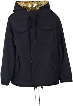 N°21 N.21 Drawstring Hooded Jacket