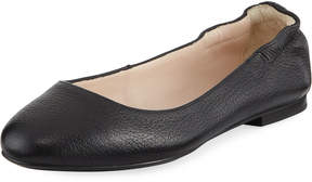 Sesto Meucci Tumbled Leather Ballerina Flat