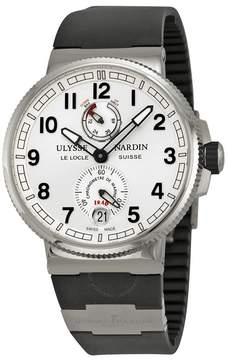 Ulysse Nardin Marine Chronometer Silver Dial Men's Watch