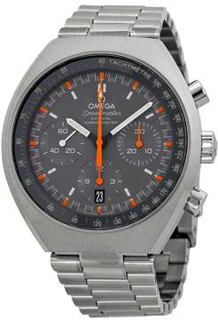 Omega Speedmaster Chronograph Grey Dial Steel Men's Watch