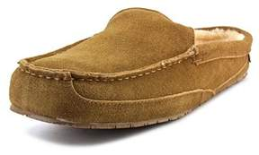 BearPaw Gale Men Moc Toe Suede Brown Loafer.