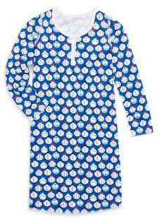 Roberta Roller Rabbit Toddler's, Little Girl's & Girl's Pima Cotton Nadine Snowmen Sleep Dress