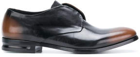 Alexander McQueen faded laceless brogues