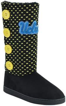NCAA Women's Ucla Bruins Button Boots