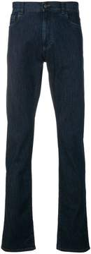 Canali slim fit straight leg jeans