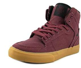Supra Vaider Round Toe Canvas Sneakers.