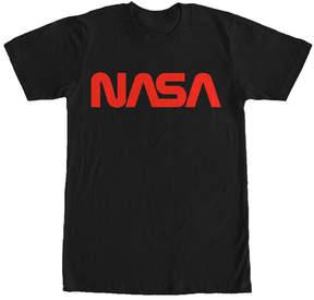 Fifth Sun NASA Black & Red Retro Logo Tee - Men