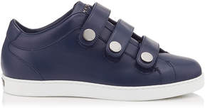 Jimmy Choo NY Navy Calf Leather Trainers
