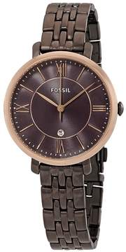 Fossil Jacqueline Brown Dial Ladies Watch