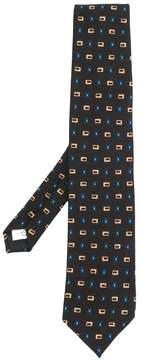 Lardini square print tie