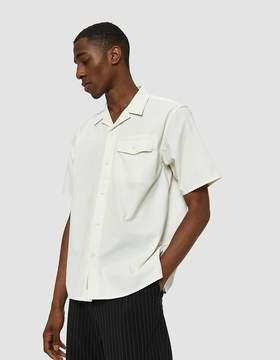 Carhartt Wip S/S Clover Shirt in Wax