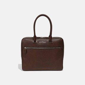 Salvatore Ferragamo Evolution Nappa Leather Briefcase