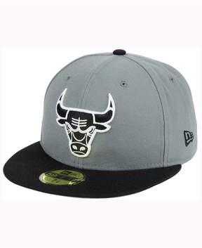 New Era Chicago Bulls 2-Tone Gray Black 59FIFTY Cap