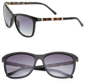 Diane von Furstenberg Hannah 56mm Square Sunglasses