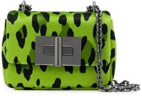 Tom Ford mini Natalia leopard velvet bag