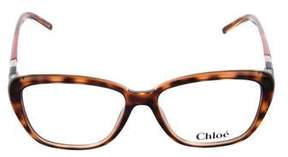 Chloé Tortoiseshell Cat-Eye Sunglasses w/ Tags