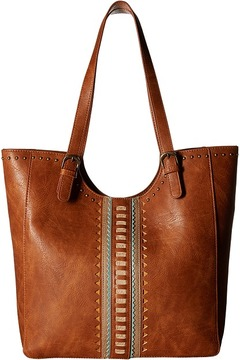American West - El Dorado Large Scoop Top Tote Tote Handbags
