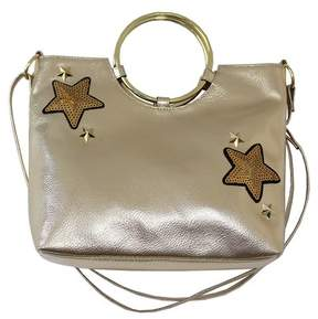 T-Shirt & Jeans Metallic Ring Star Embroidered Crossbody Bag