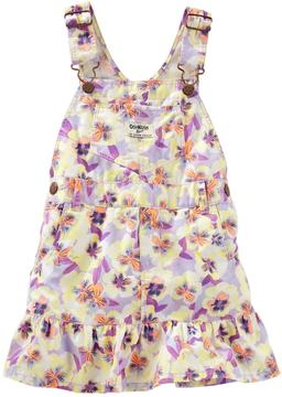 Osh Kosh Toddler Girl Floral Jumper