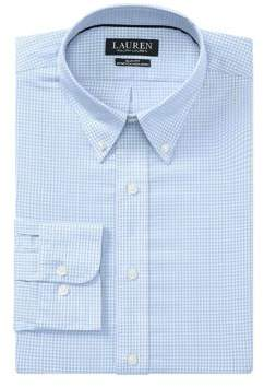 Lauren Ralph Lauren Slim-Fit No-Iron Dress Shirt