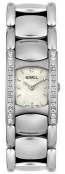 Ebel Beluga Manchette Mother Of Pearl Dial Stainless Steel Ladies Quartz Watch