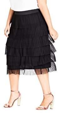 City Chic Plus Beauty Ballet Skirt