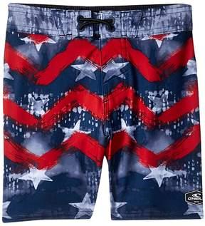 O'Neill Kids Hyperfreak Independence Boardshorts Boy's Shorts