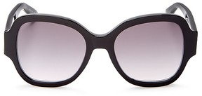 Saint Laurent Oversized Square Sunglasses, 51mm