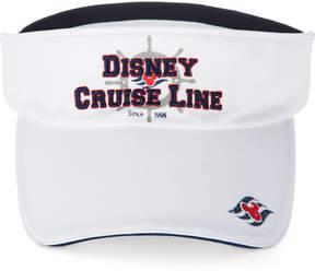 Disney Cruise Line Americana Visor - White