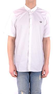 Fred Perry Women's White Cotton Shirt.