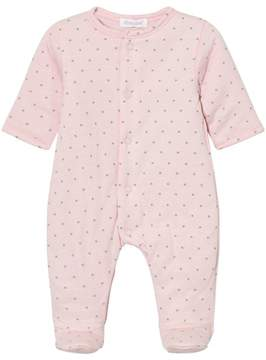 Absorba Pink Star Print Padded Babgrow