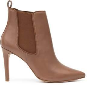 Reiss Raimonda Point-Toe Ankle Boots