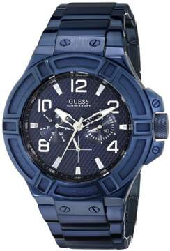 GUESS Men's Blue Rigor Iconic Multifunction Watch U0218G4