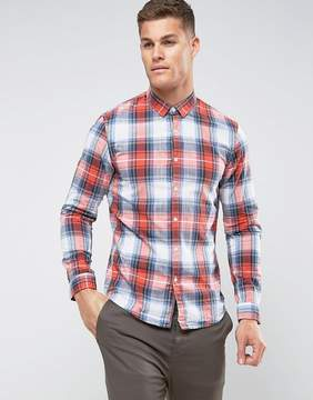 Tom Tailor Check Shirt in Slim Fit