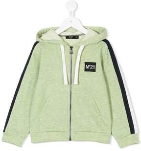 No.21 Kids zip-up hoodie