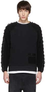 Diesel Black Cable Knit K-Corz Sweatshirt