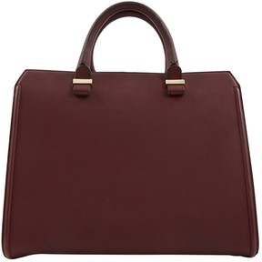 Victoria Beckham Burgundy Leather Handbag