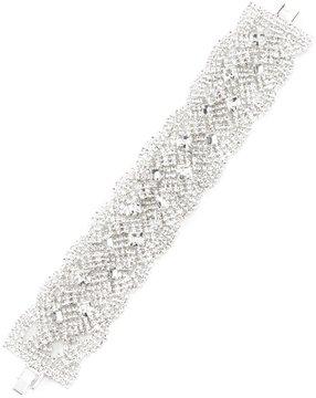 Cezanne Rhinestone Braided Line Bracelet