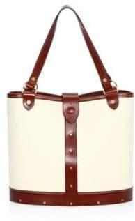The Row Leather Trim Pail Bag