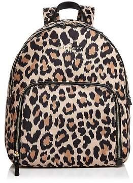 Kate Spade Watson Lane Hartley Leopard Print Nylon Backpack - MULTI/GOLD - STYLE