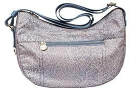 Borbonese Women's Multicolor Polyester Shoulder Bag.